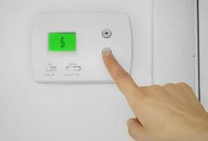 Thermostat programmage pour contrôler le chauffage (domotique)